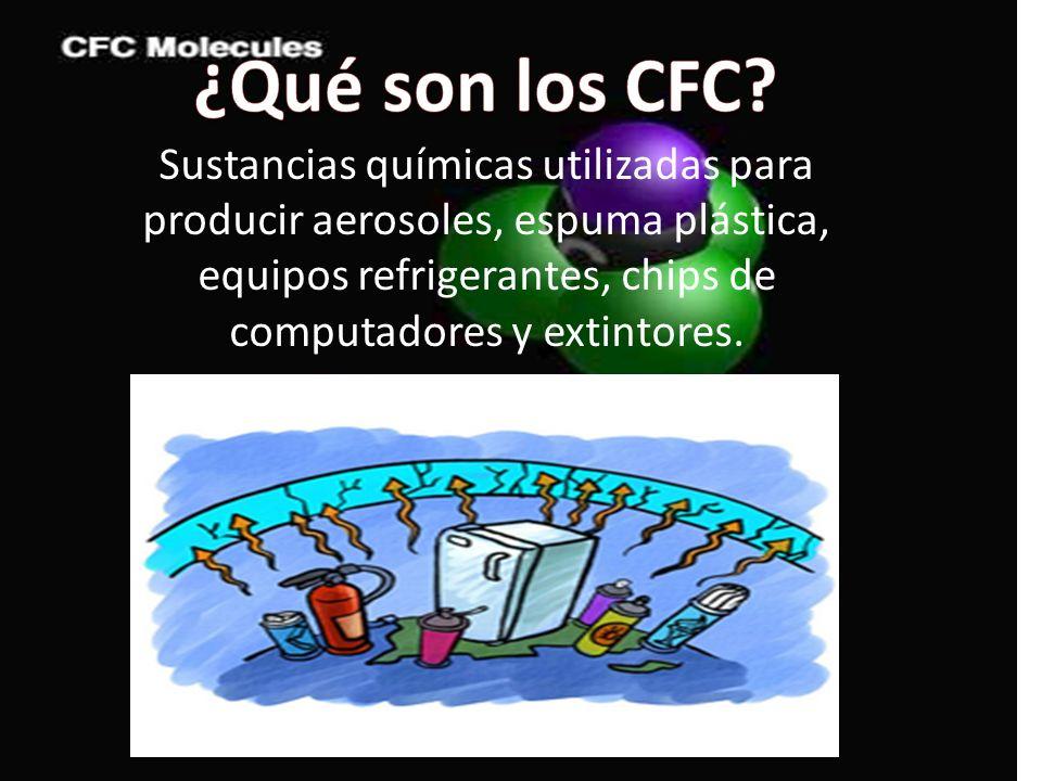 ¿Qué son los CFC.