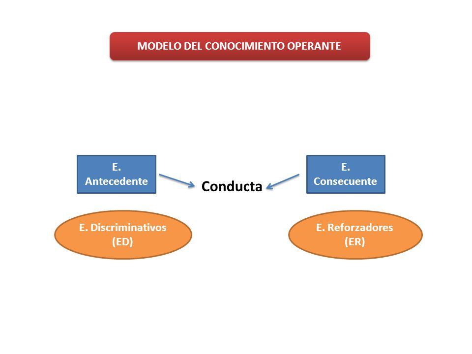 MODELO DEL CONOCIMIENTO OPERANTE
