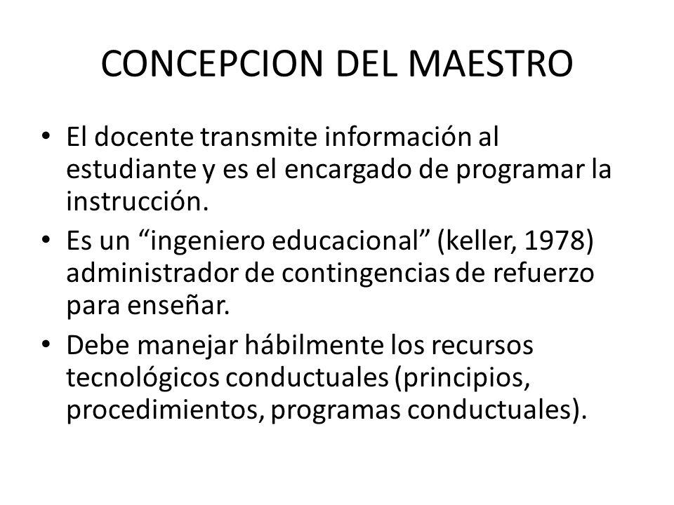 CONCEPCION DEL MAESTRO