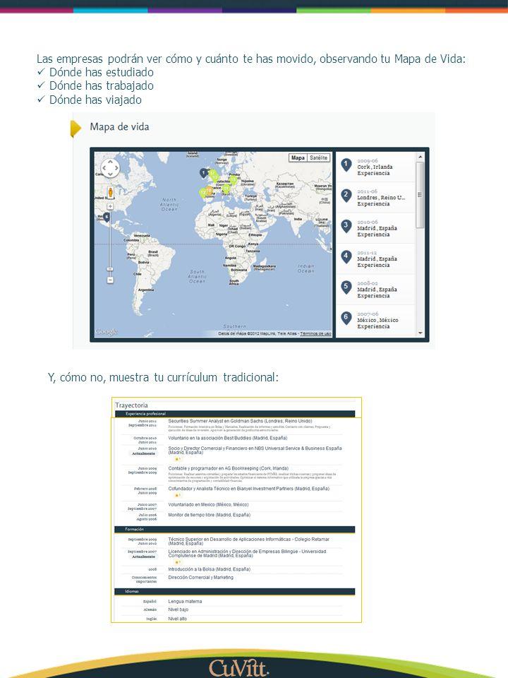 Las empresas podrán ver cómo y cuánto te has movido, observando tu Mapa de Vida: