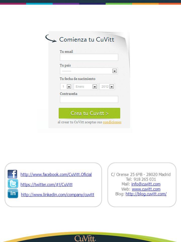 Blog: http://blog.cuvitt.com/