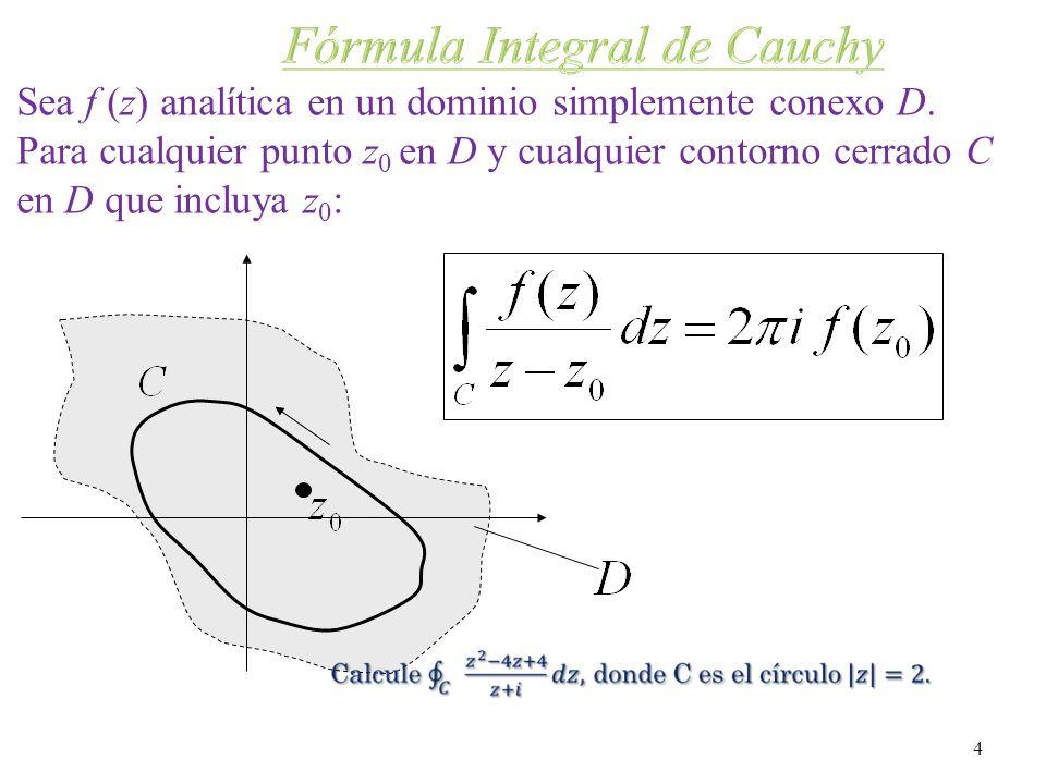 Fórmula Integral de Cauchy
