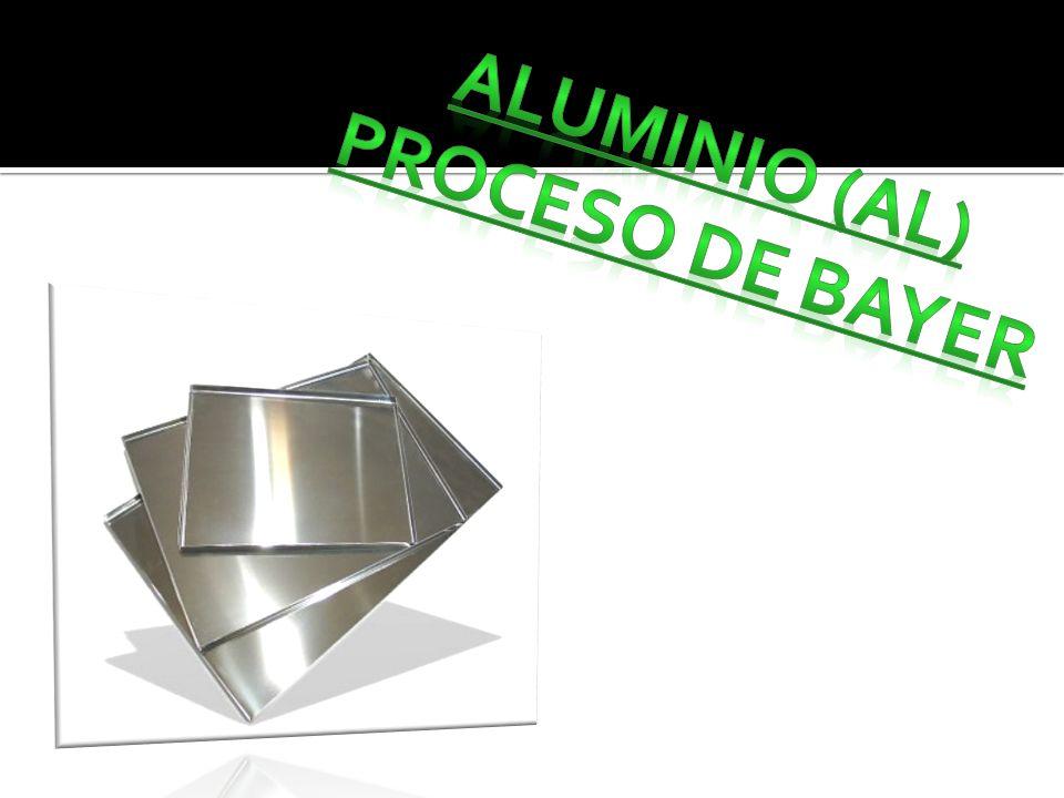 ALUMINIO (AL) PROCESO DE BAYER