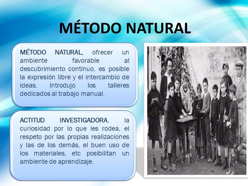 MÉTODO NATURAL