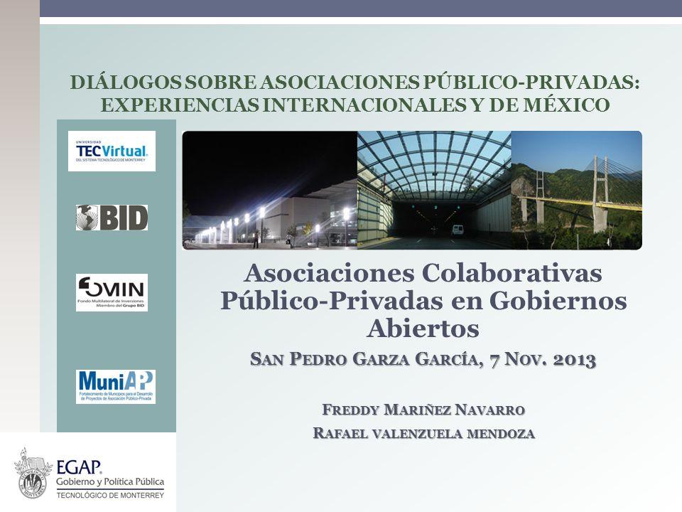 Asociaciones Colaborativas Público-Privadas en Gobiernos Abiertos