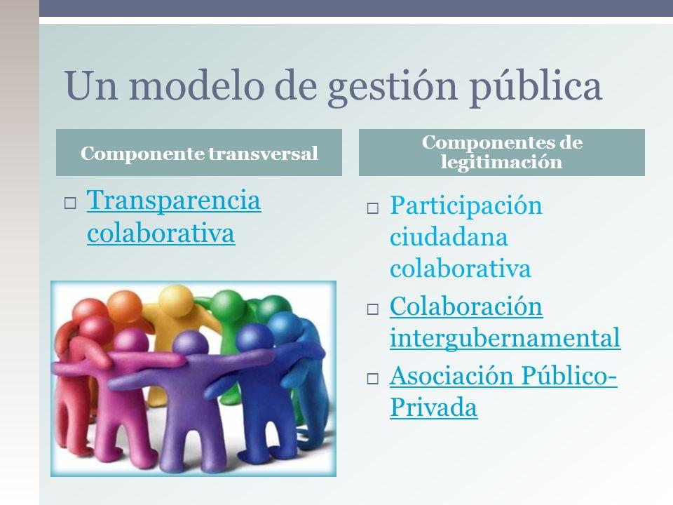 Un modelo de gestión pública