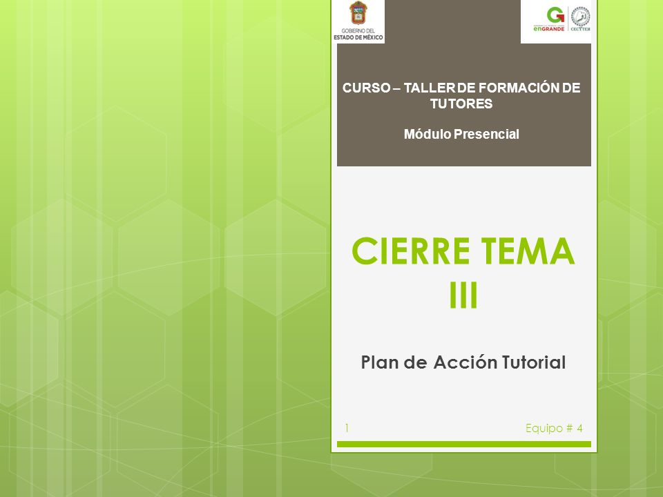 Plan de Acción Tutorial