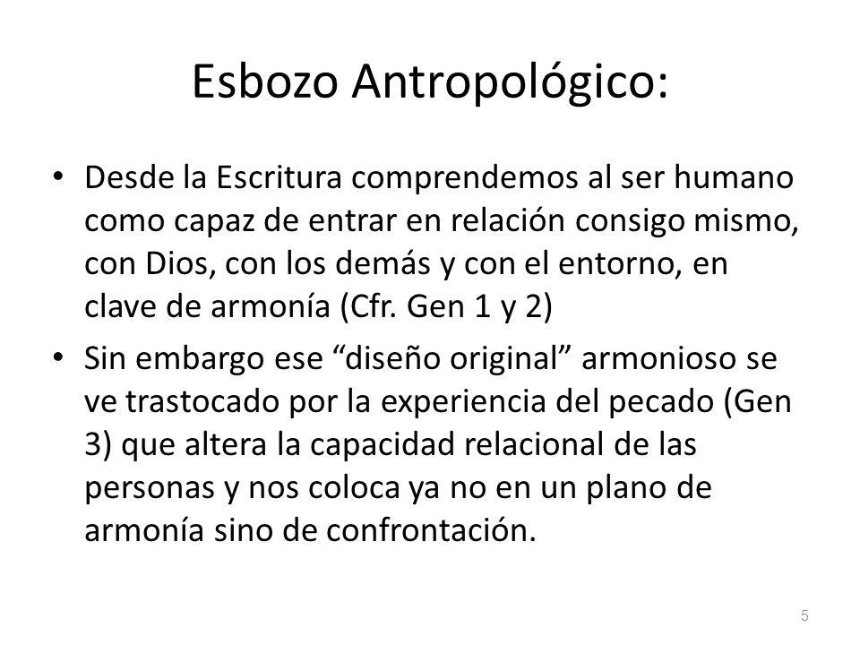 Esbozo Antropológico: