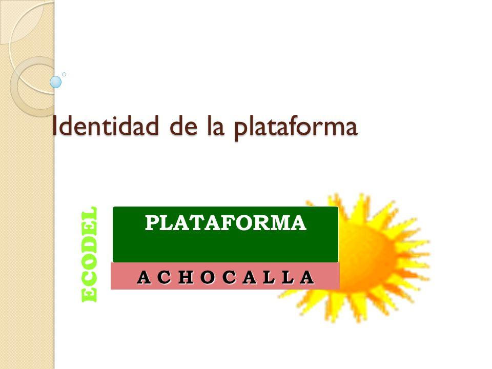 Identidad de la plataforma