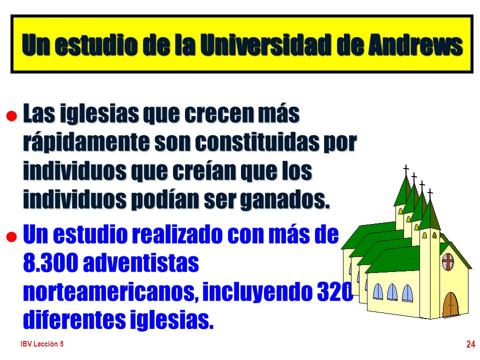 Un estudio de la Universidad de Andrews