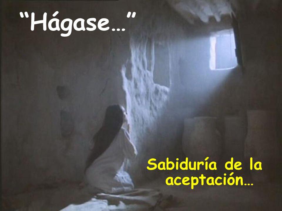 Sabiduría de la aceptación…