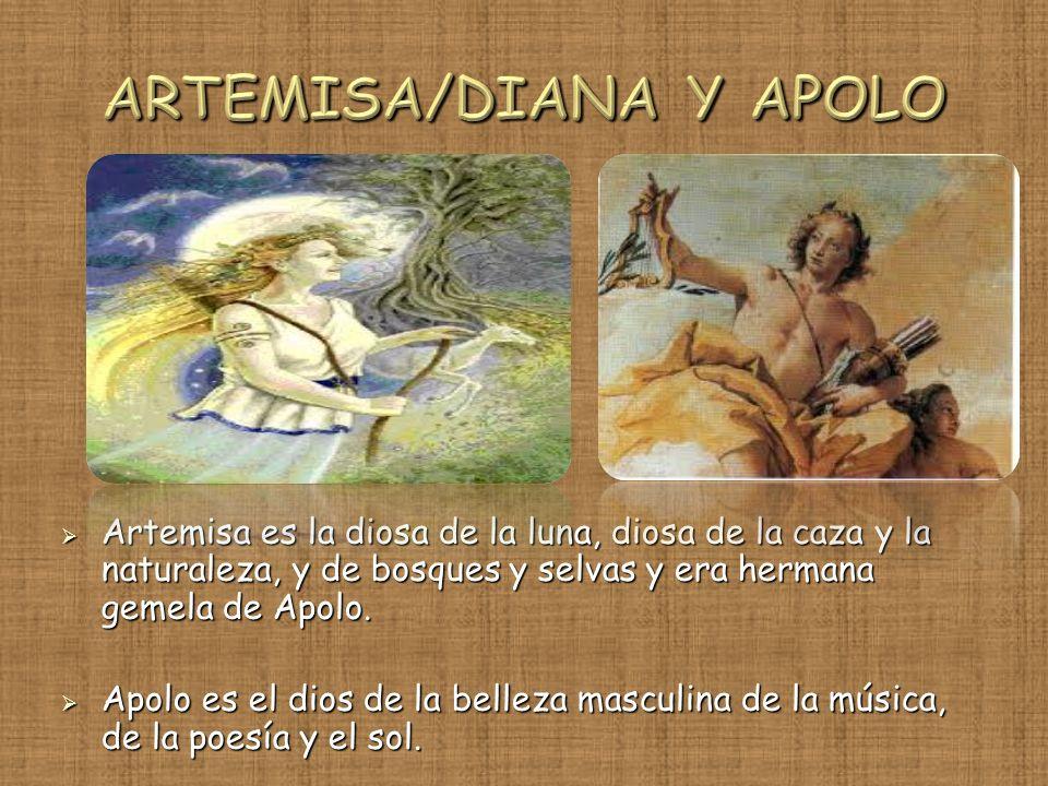 ARTEMISA/DIANA Y APOLO