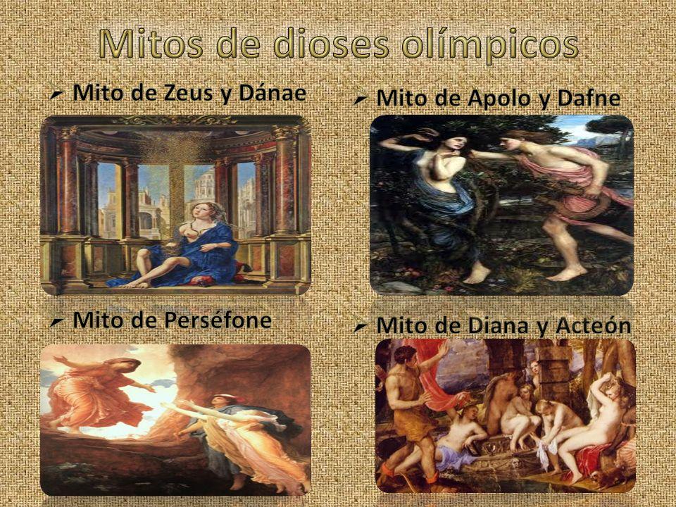 Mitos de dioses olímpicos