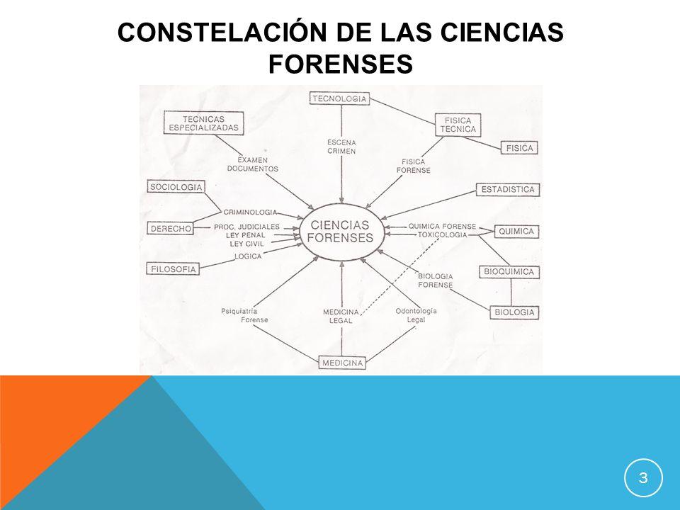 Constelación DE LAS CIENCIAS FORENSES