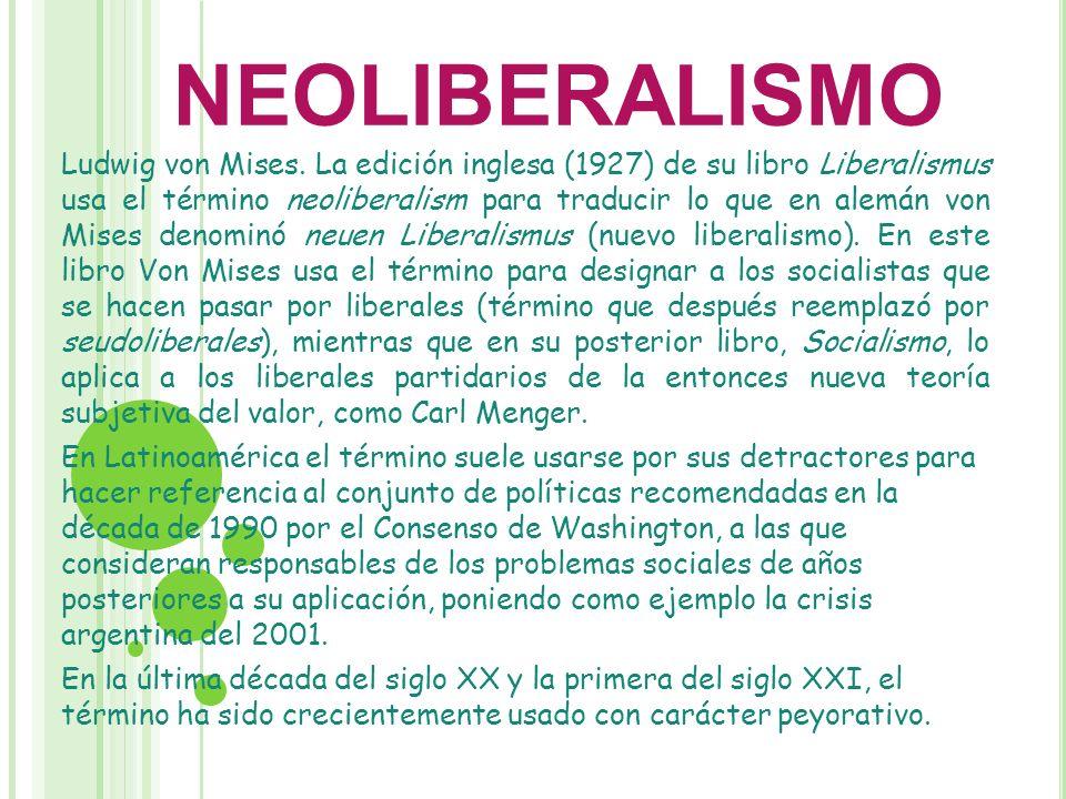Uso liberal del neoliberalismo