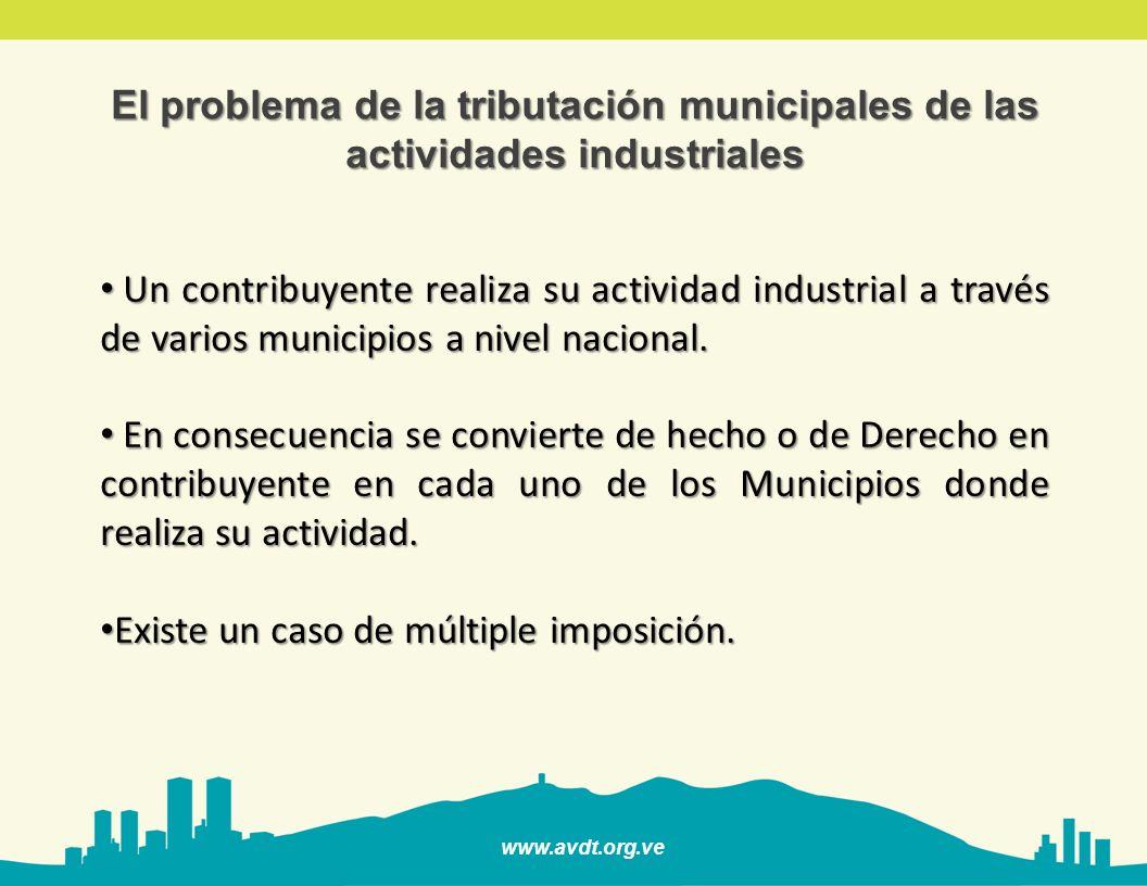 El problema de la tributación municipales de las actividades industriales