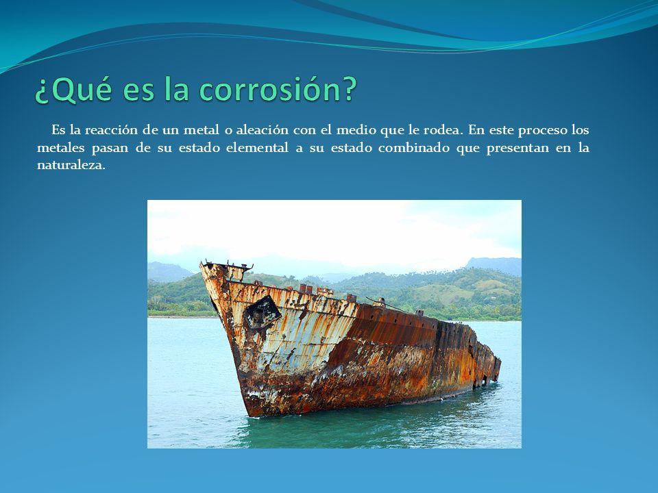 ¿Qué es la corrosión