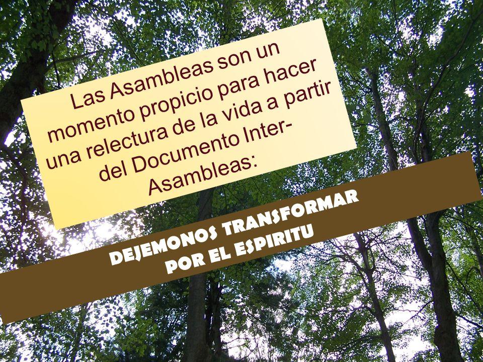 DEJEMONOS TRANSFORMAR