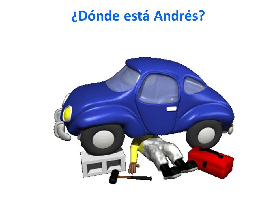 ¿Dónde está Andrés