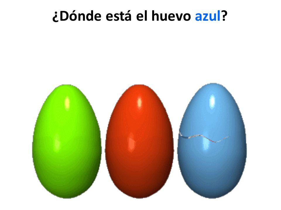 ¿Dónde está el huevo azul