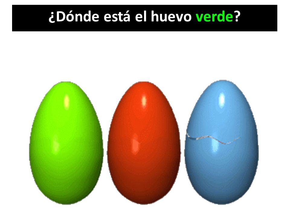 ¿Dónde está el huevo verde