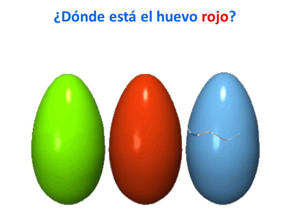 ¿Dónde está el huevo rojo