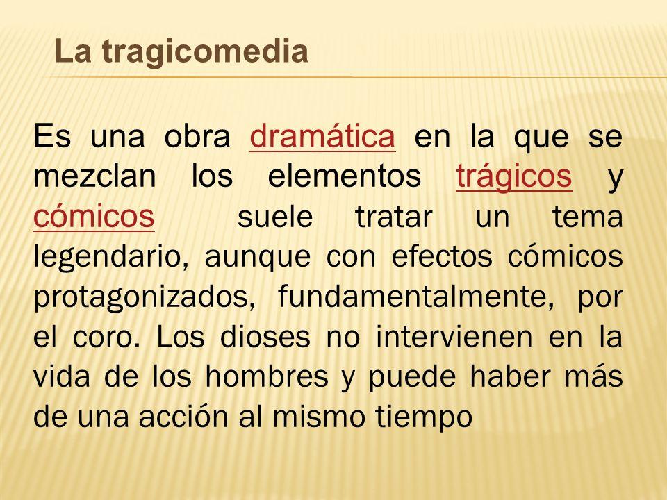 La tragicomedia