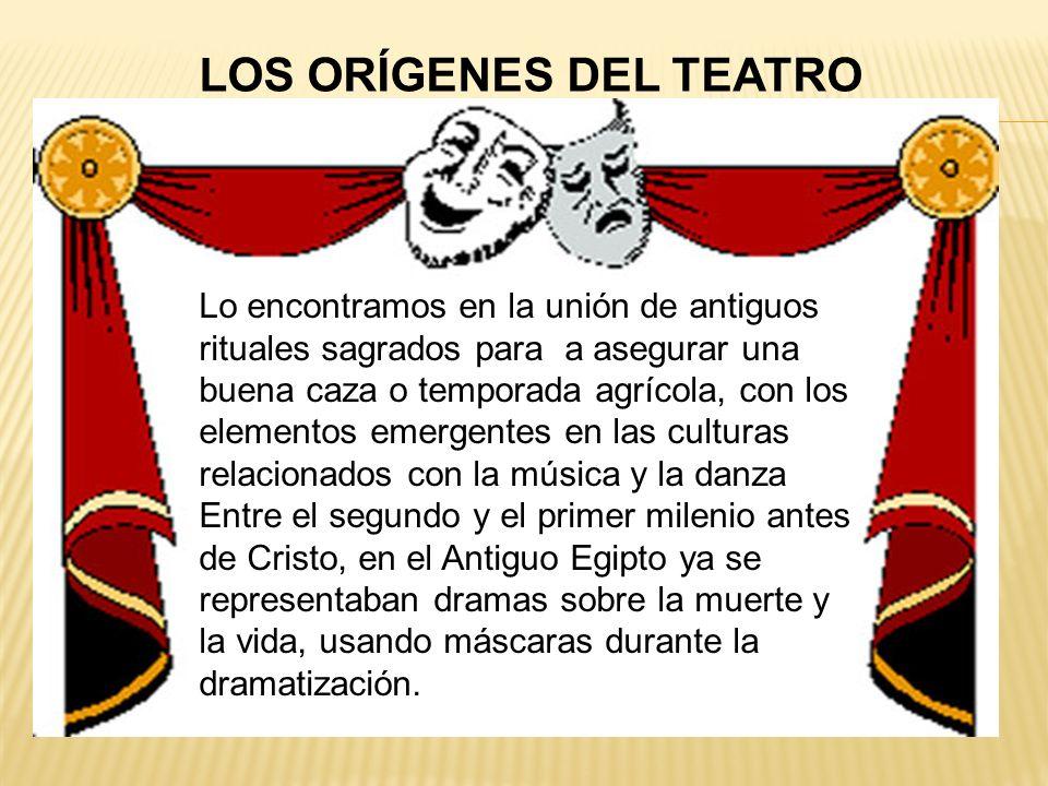 LOS ORÍGENES DEL TEATRO