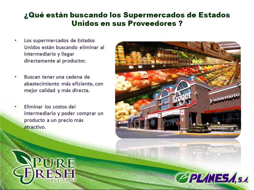 ¿Qué están buscando los Supermercados de Estados Unidos en sus Proveedores