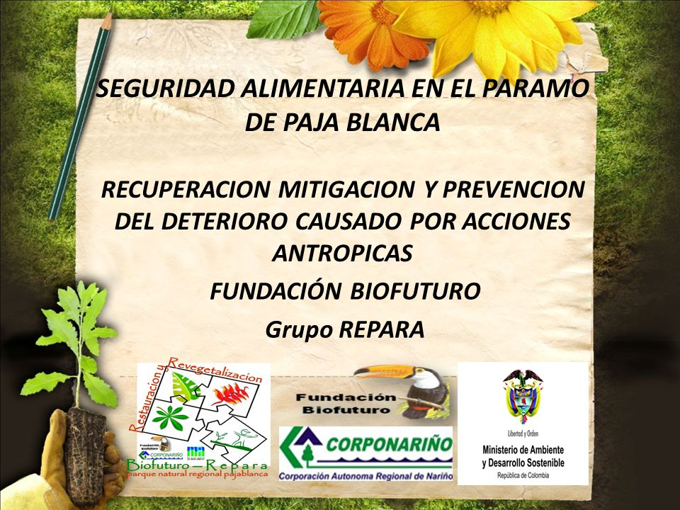 FUNDACIÓN BIOFUTURO Grupo REPARA