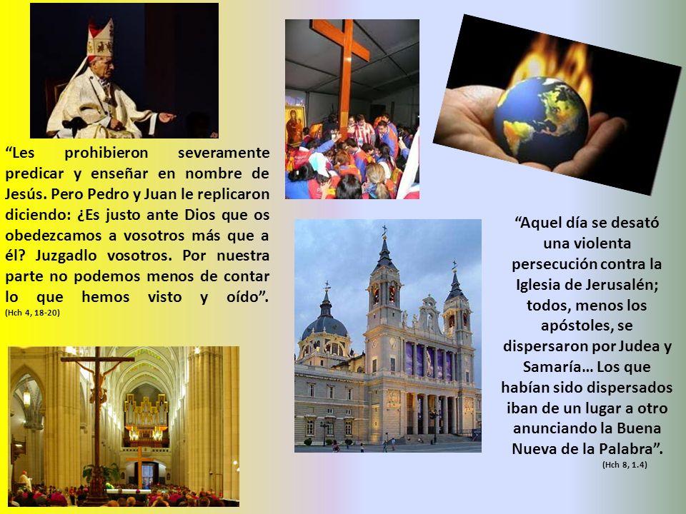 Les prohibieron severamente predicar y enseñar en nombre de Jesús