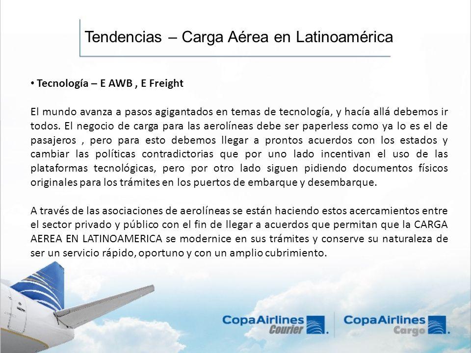 Tendencias – Carga Aérea en Latinoamérica