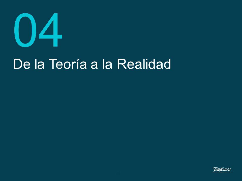 04 De la Teoría a la Realidad 18 18