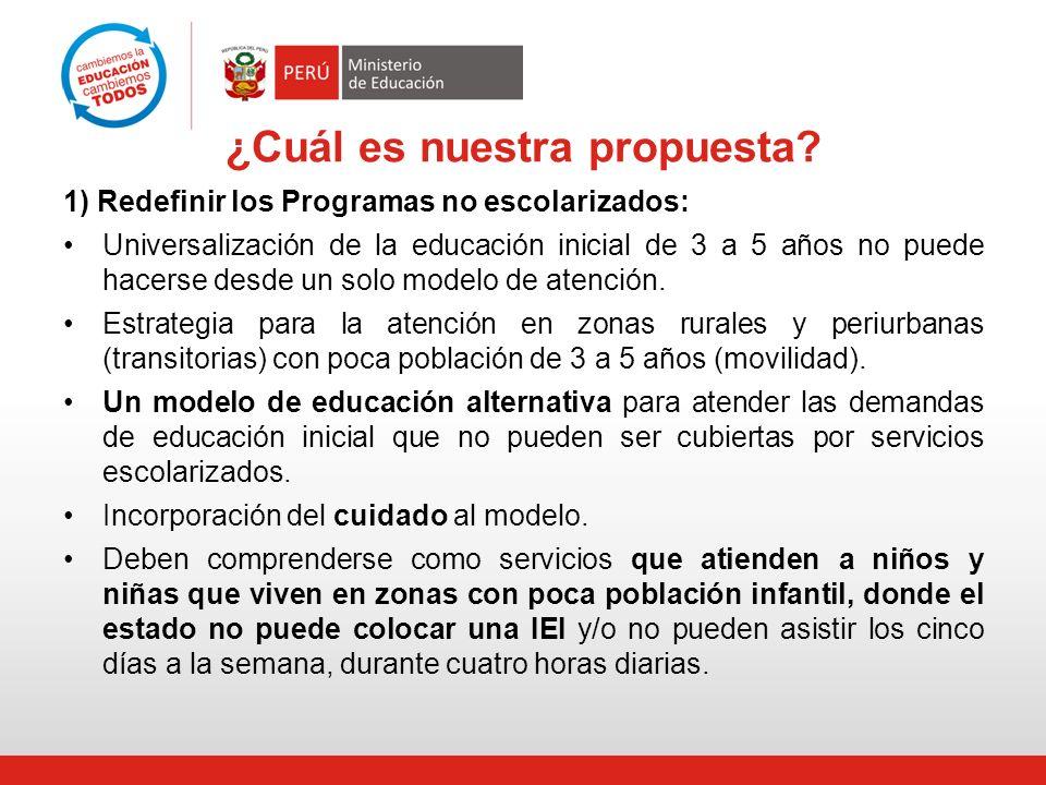 ¿Cuál es nuestra propuesta