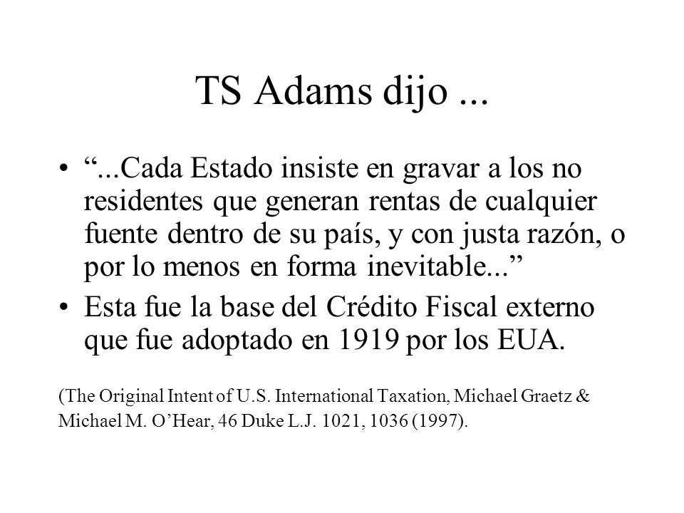TS Adams dijo ...