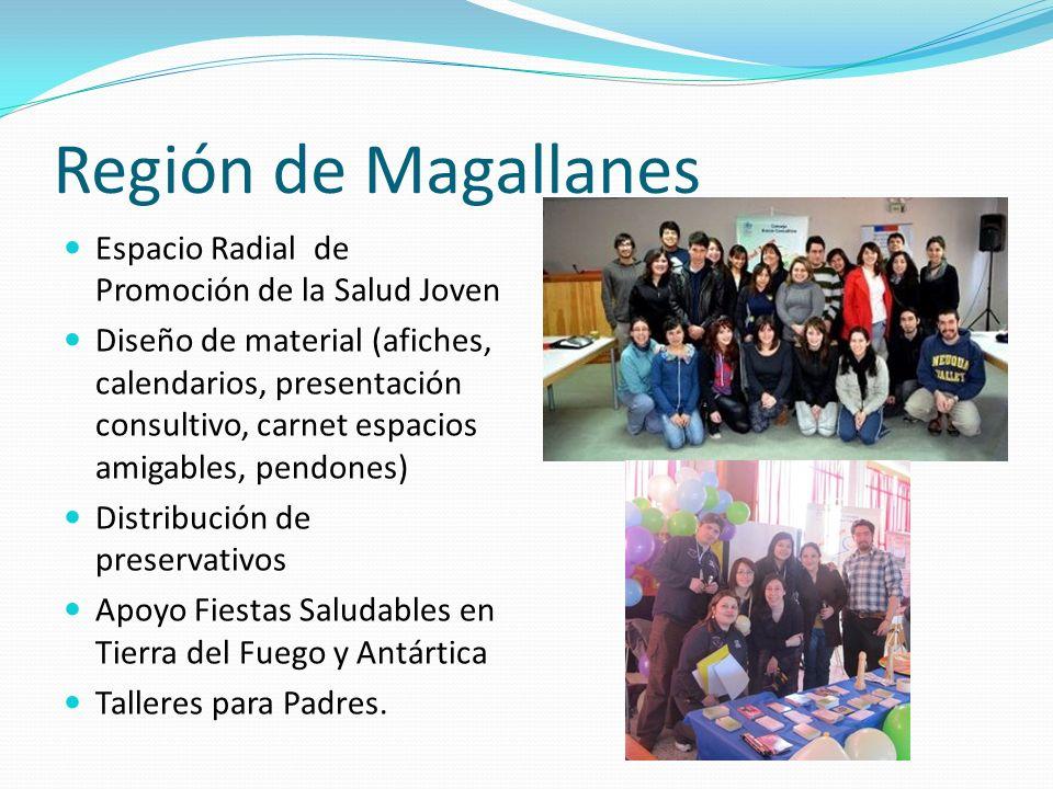 Región de Magallanes Espacio Radial de Promoción de la Salud Joven