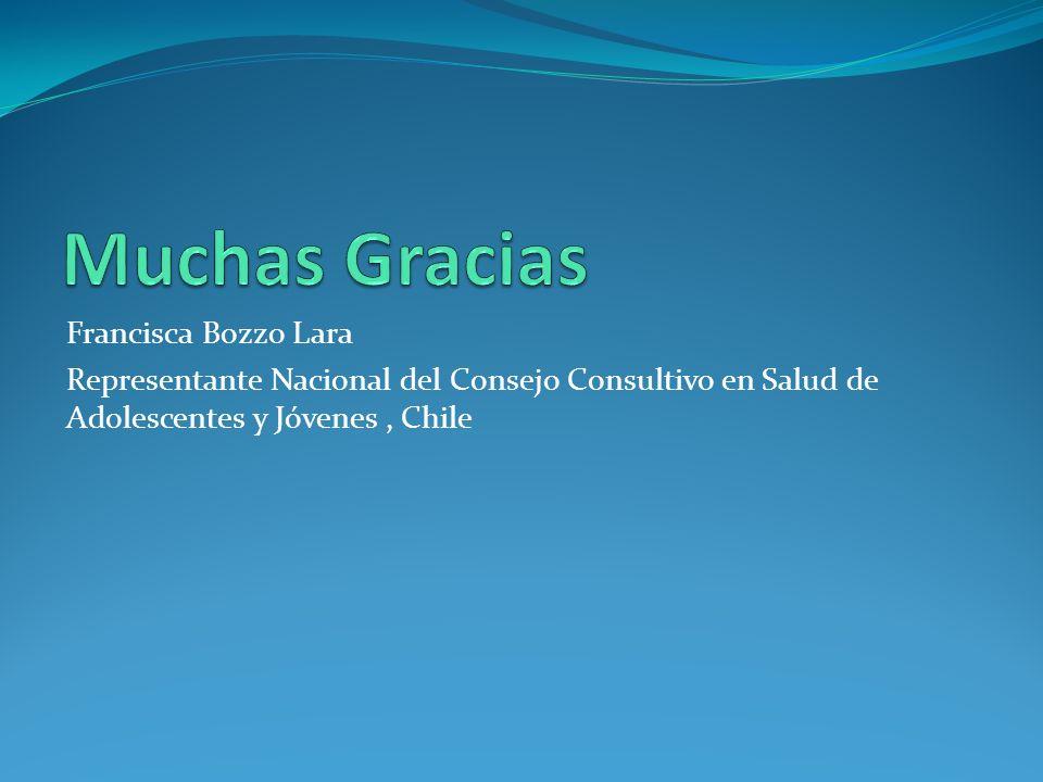 Muchas Gracias Francisca Bozzo Lara