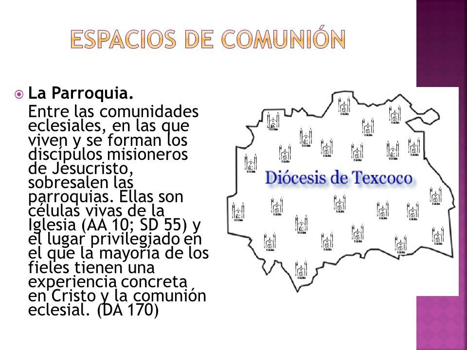 Espacios de Comunión La Parroquia.