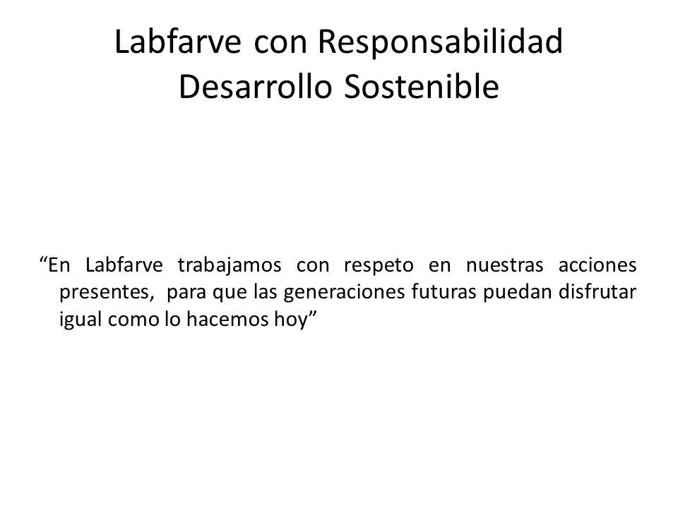Labfarve con Responsabilidad Desarrollo Sostenible