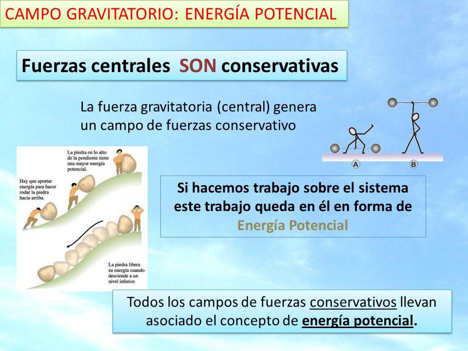 Fuerzas centrales SON conservativas