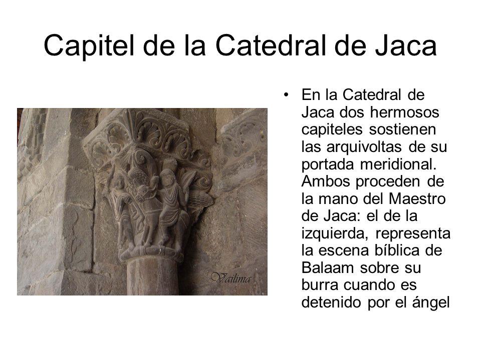 Capitel de la Catedral de Jaca