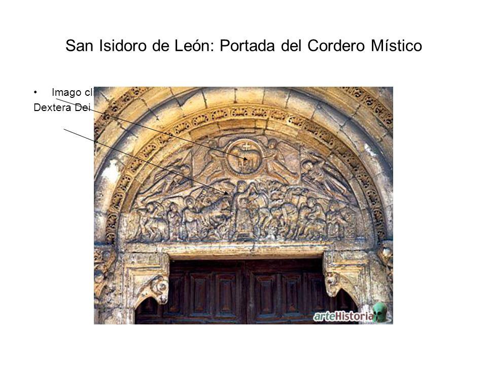 San Isidoro de León: Portada del Cordero Místico