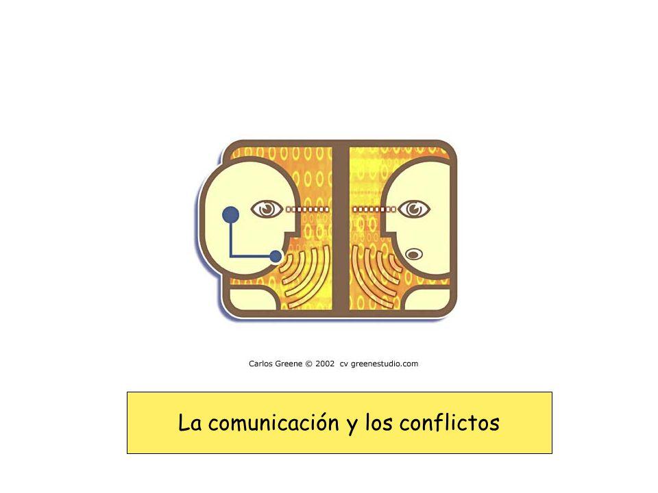 La comunicación y los conflictos