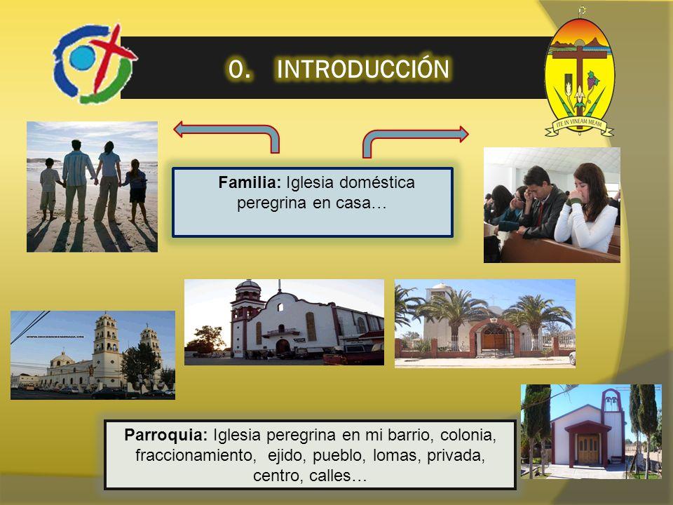 Familia: Iglesia doméstica peregrina en casa…
