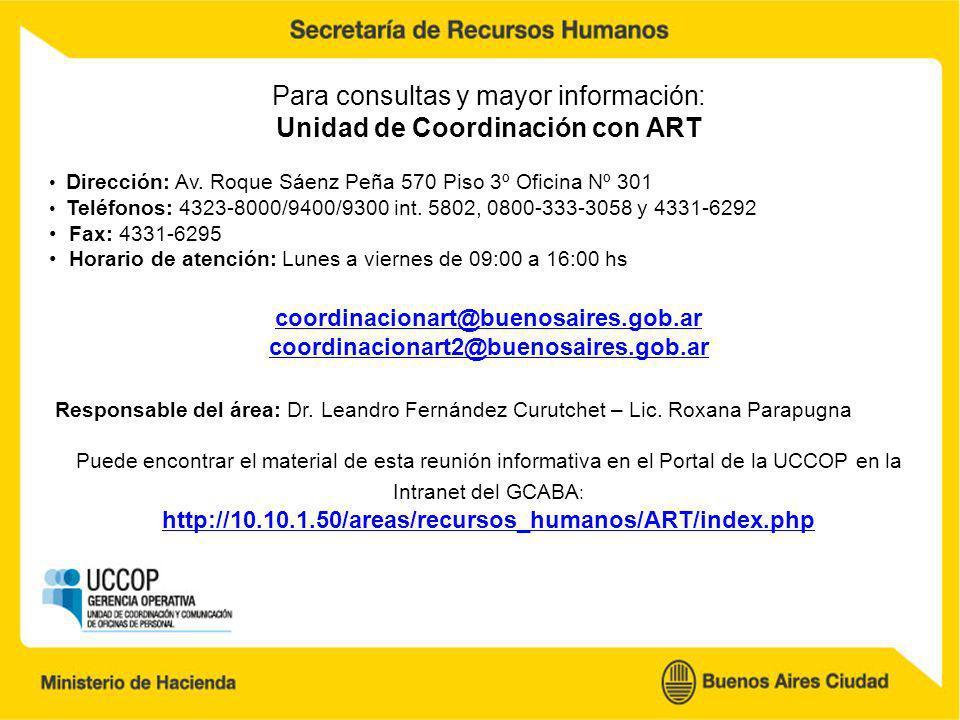 Unidad de Coordinación con ART