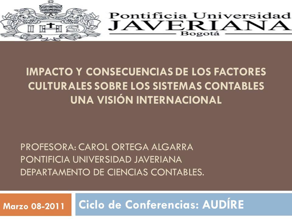 Ciclo de Conferencias: AUDÍRE