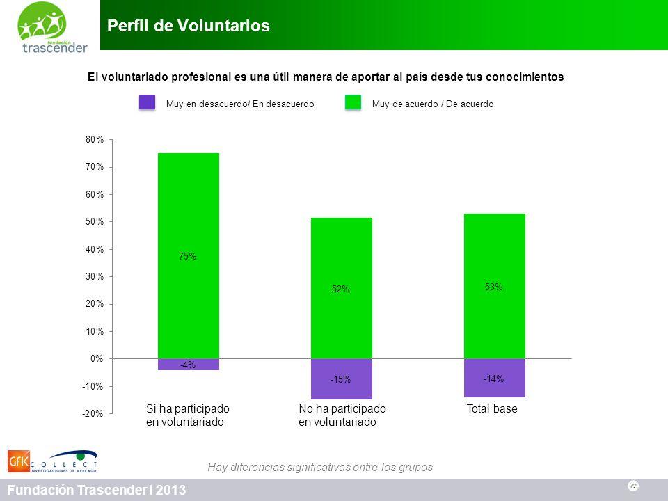 Perfil de Voluntarios El voluntariado profesional es una útil manera de aportar al país desde tus conocimientos.