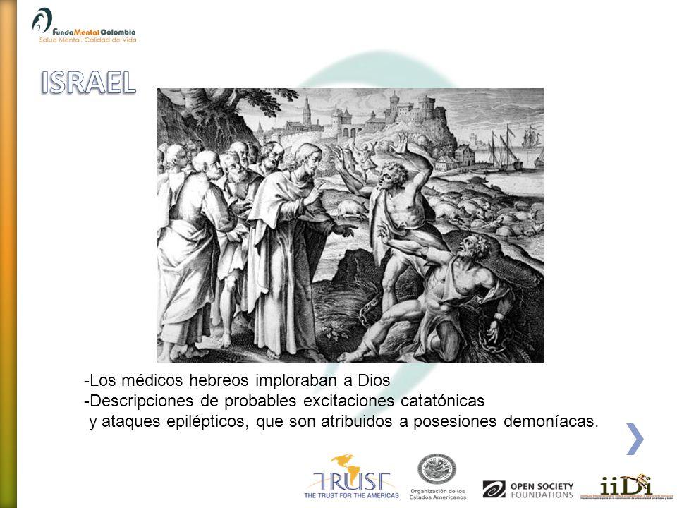 ISRAEL Los médicos hebreos imploraban a Dios