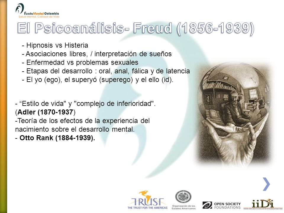 El Psicoanálisis- Freud (1856-1939)