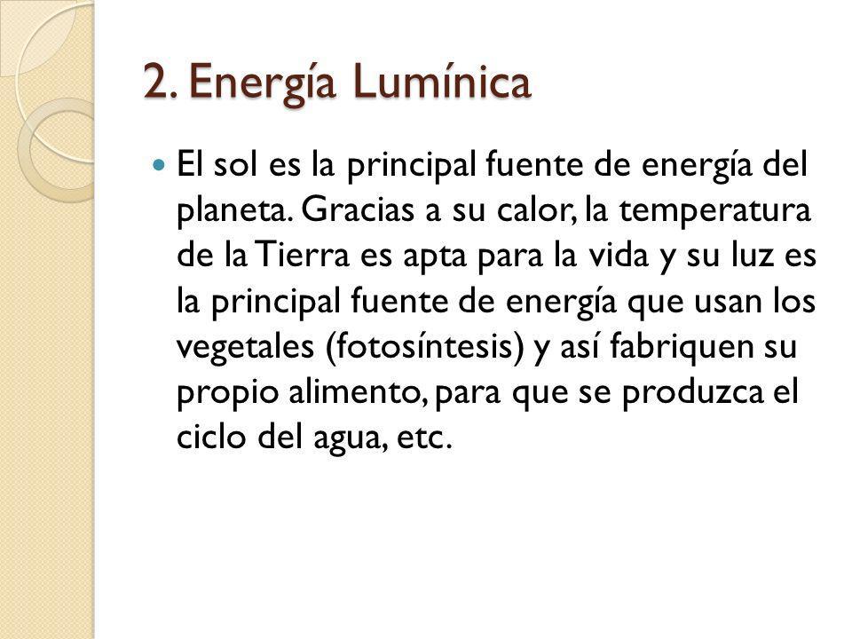 2. Energía Lumínica